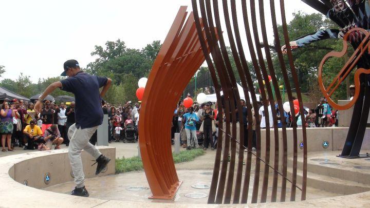 Chuck Brown Memorial Park Dedication