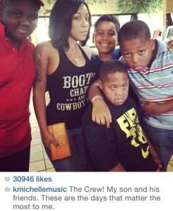 K.-Michelle-son-and-friends