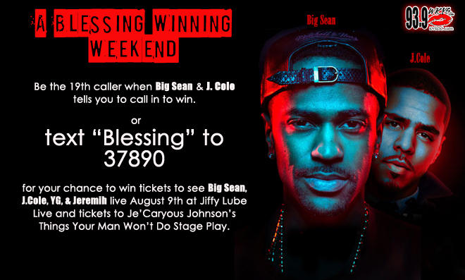 Blessing Winning Weekend