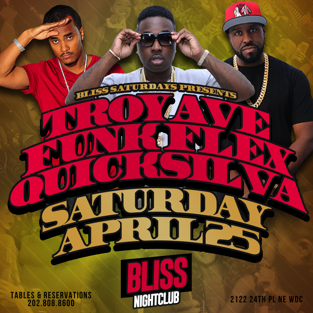 BLISS flyers troy ave