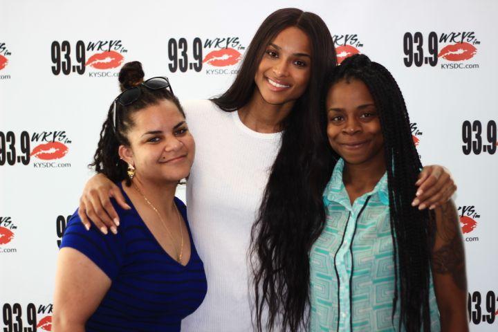 Ciara Meet & Greet @ 93.9 WKYS