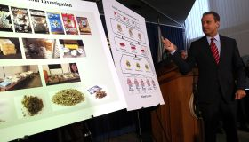 NYPD Chief Bratton And US Attorney Bharara Announce Charges Against Synthetic Marijuana Manufacturers