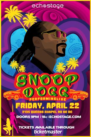 Snoop at Echostage