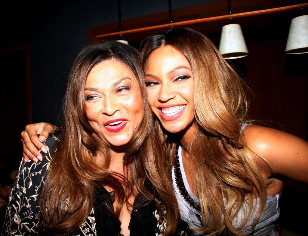 Tina Knowles & Beyonce