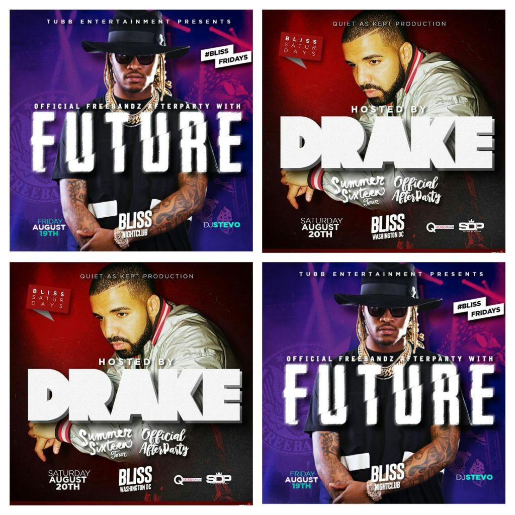 Future and Drake At Bliss