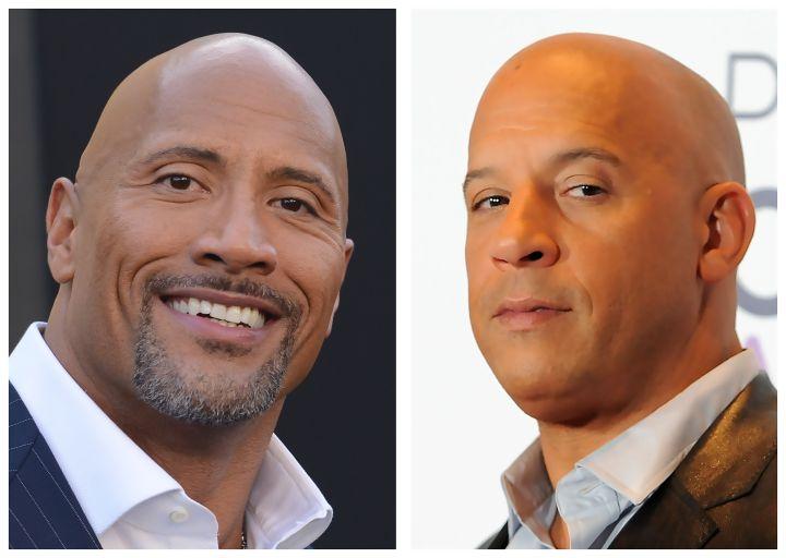 Dwayne Johnson & Vin Diesel