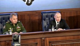 Extended meeting of the Russian Defence Ministry Board in Moscow