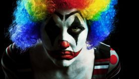 Creepy Halloween Clown