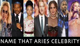Name That Celebrity With The Aries Star Sign Graphic