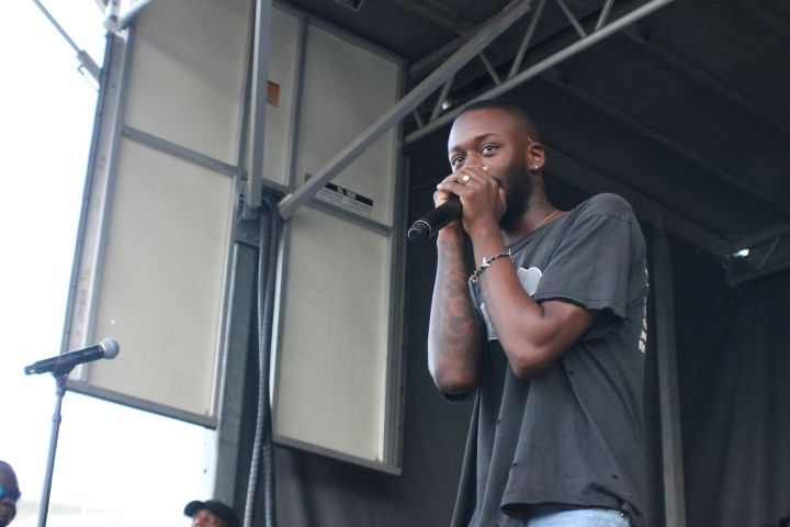 Goldlink at the 2017 #KYSBlockPary