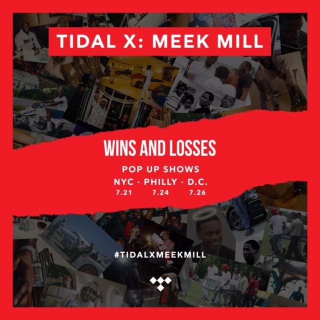 Meek Mill Wins & Losses Concert