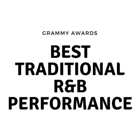 Traditional R&B performance