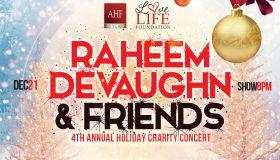 Raheem DeVaughn & Friends 4th Annual Holiday Concert