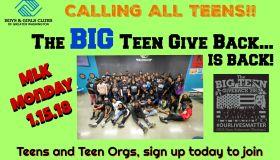 The Big Teen Give Back