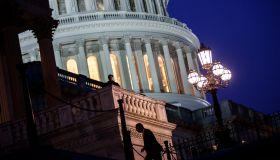 Senate Continues Debate As Government Shutdown Enters Third Day