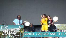 Daniel Caesar & H.E.R At Broccoli City Fest