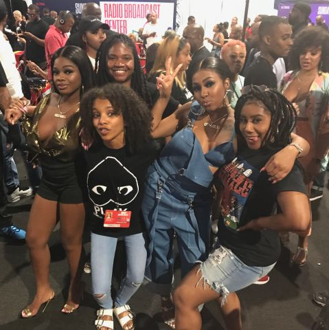 93.9 WKYS At The BET Awards