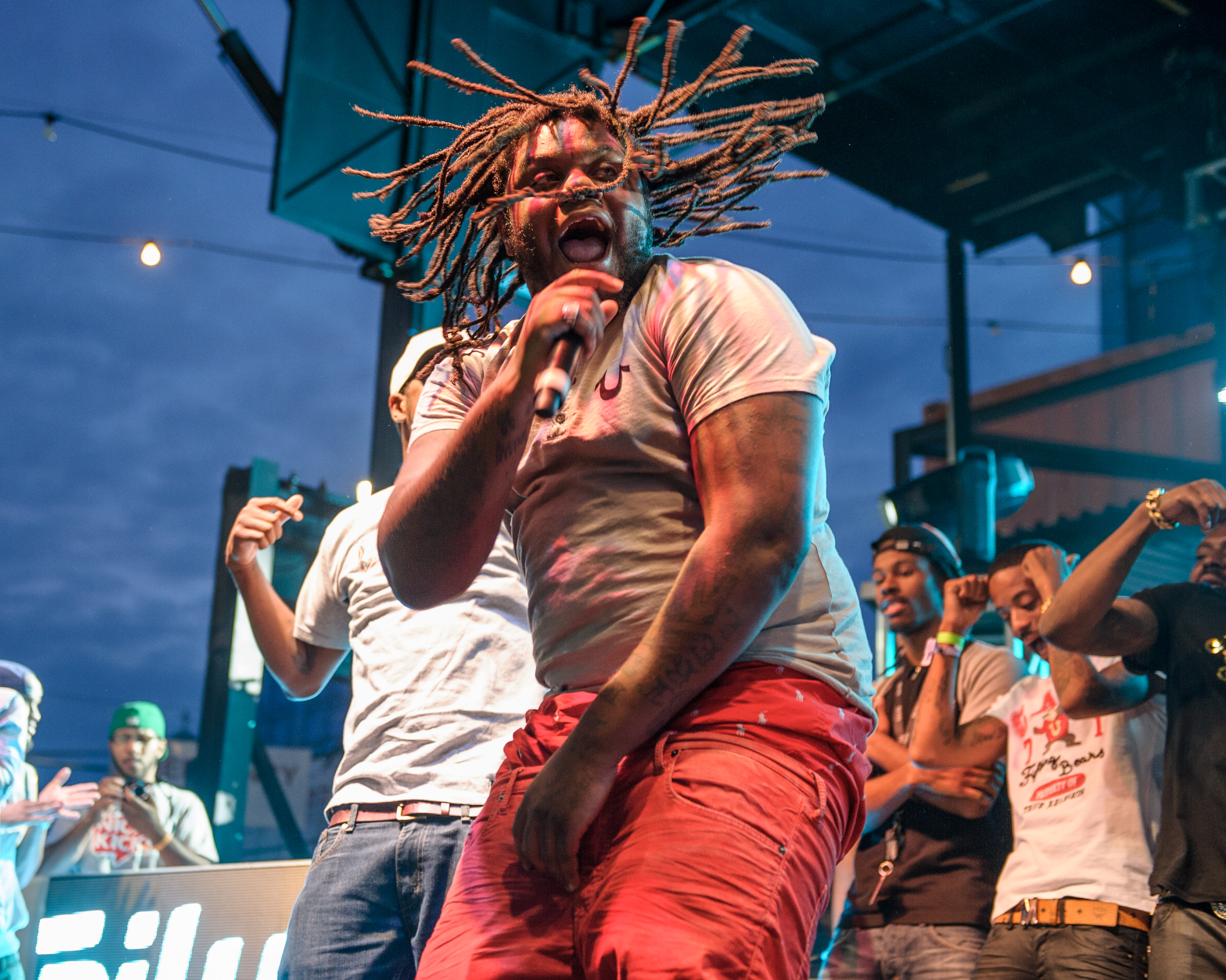 Fat Trel Performs at the 2013 Trillectro Festival in Washington, D.C.
