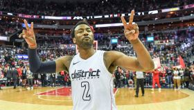 NBA Play-offs first round-game 4. Toronto Raptors at Washington Wizards