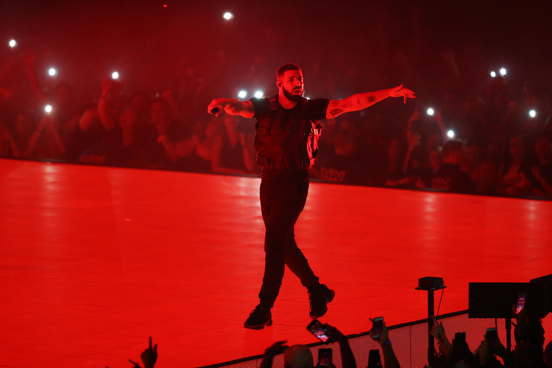 Drake Performs In Concert At TD Garden