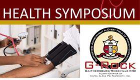 Gaithersburg-Rockville 2018 Male Health Symposium