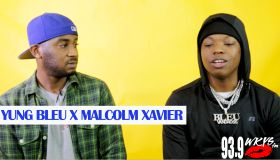 Malcolm Xavier Talks With Yung Bleu