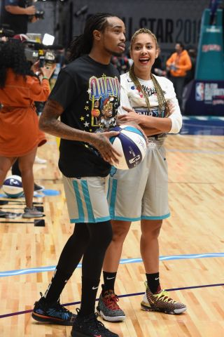 2019 NBA All-Star Celebrity Game - Inside