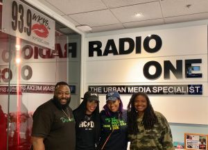 Jay Cole @thatgirljaycole joins Angie Ange in the Morning