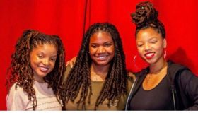 Angie Ange with ChloexHalle