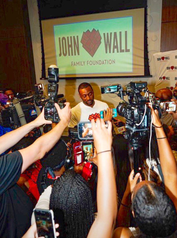 John Wall 6th Annual Backpack Giveaway