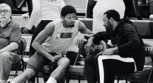 Wizards Surprise Practice At Ballou High School