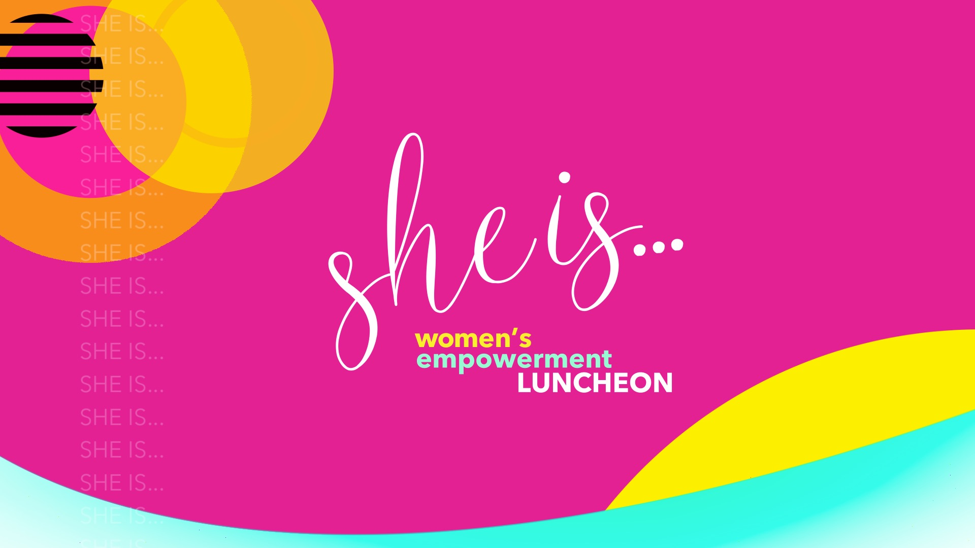 """""""She Is..."""" Logo"""