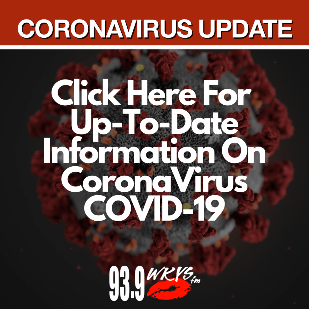 CoronaVirus Update Graphic