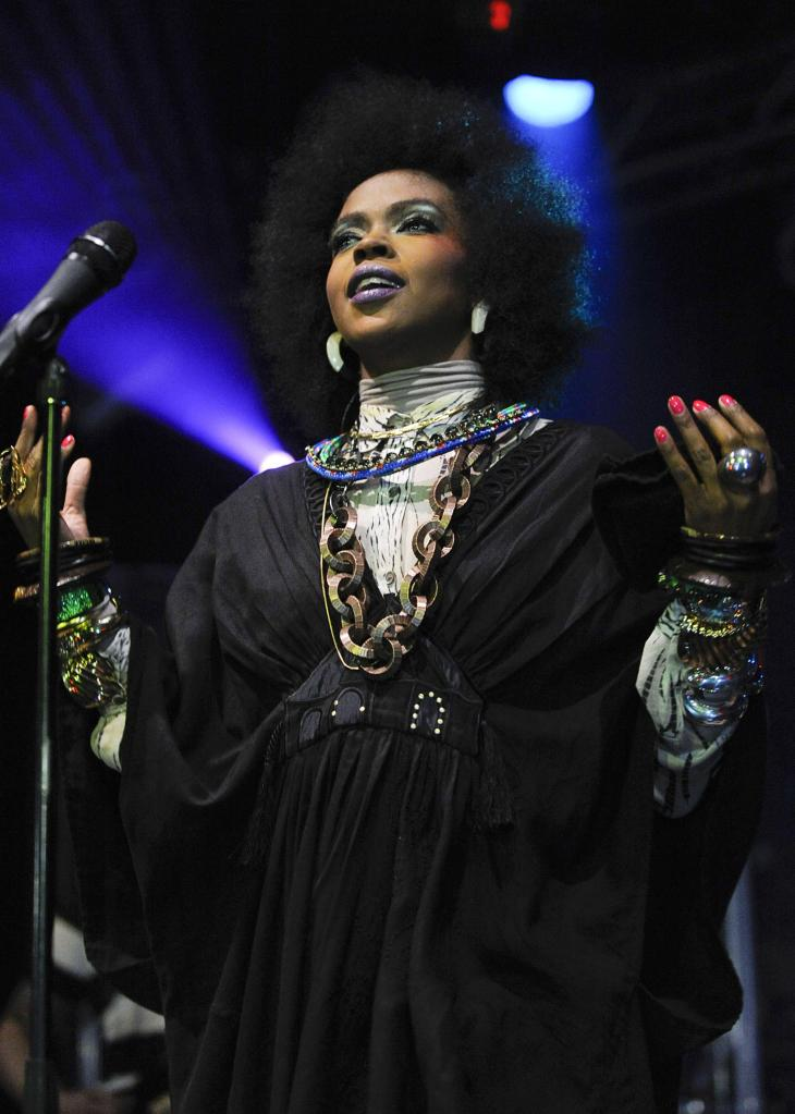 Lauryn Hill Performs At Highline Ballroom