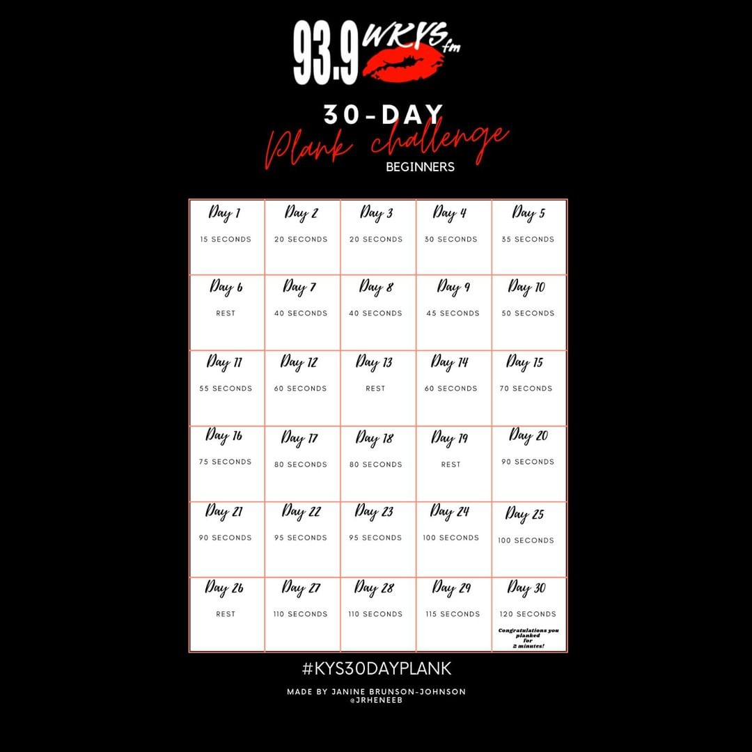 KYS 30 Day Plank Challenge #KYS30DayPlank