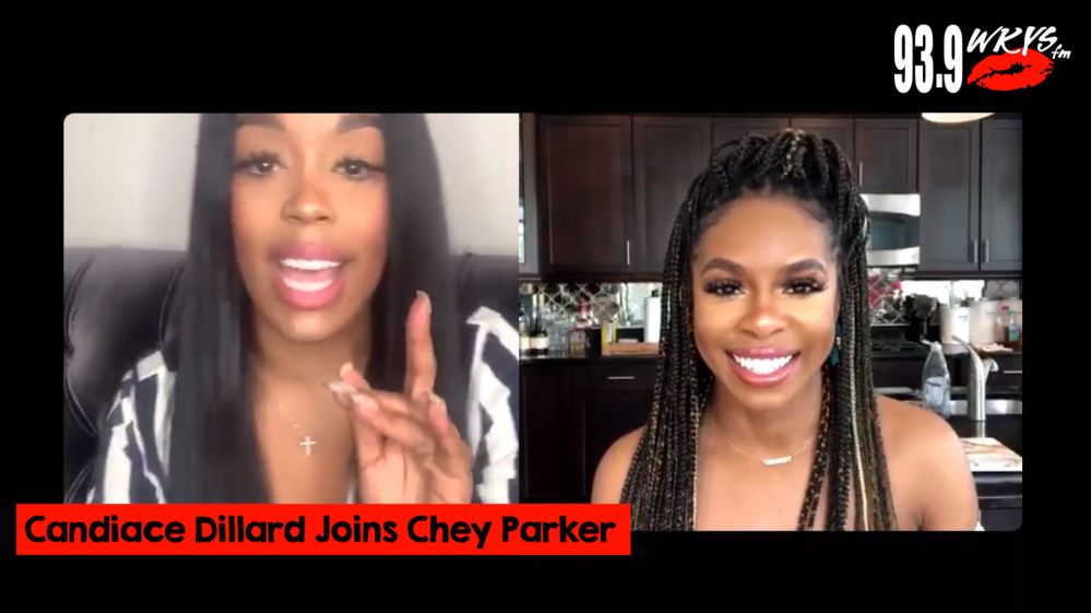 Candiace Dillard Interview with Chey Parker