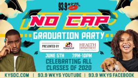 KYS No Cap Graduation June 5th Presented by PG County Health Dept