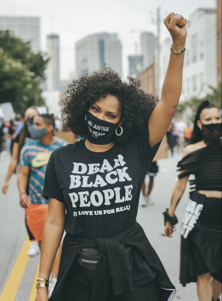 """Dear Black People (I Love Us For Real)"" T-Shirt"