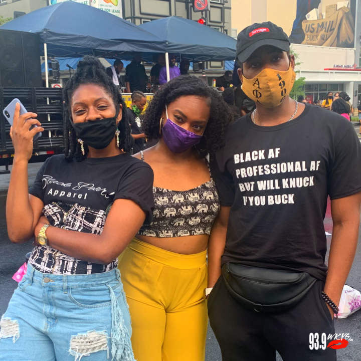 """Black AF, Professional AF But Will Knuck If You Buck"" T-Shirt"