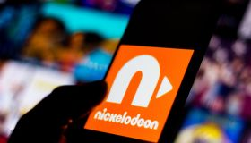 In this photo illustration the Nickelodeon logo seen...