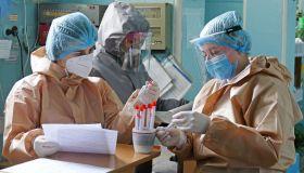 Ukraine Covid Doctors