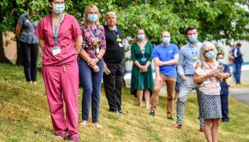 Royal visit to Gloucestershire Royal Hospital