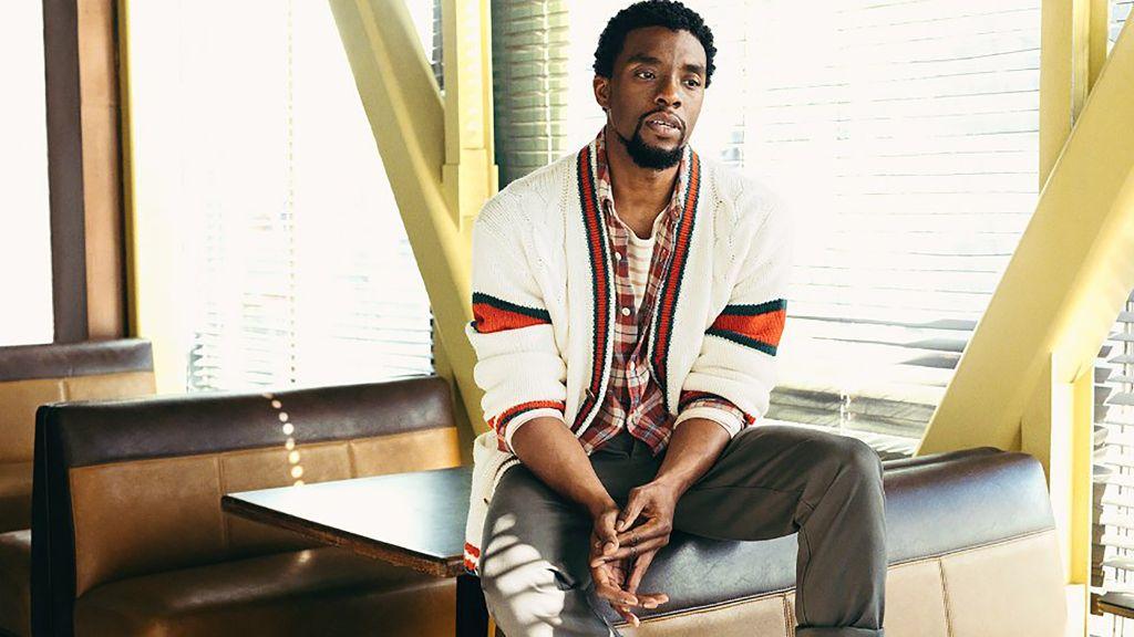 Chadwick Boseman MR.PORTER
