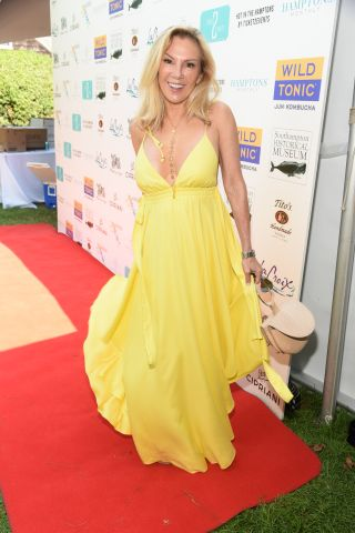 Ramona Singer and other Real Housewives attend Hamptons Luxury event
