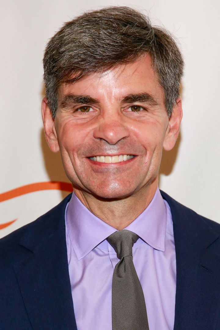 """Good Morning America"" anchor George Stephanopoulos"
