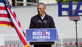 Barack Obama at Biden-Harris rally in Atlanta, Georgia