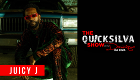 Juicy J x The QuickSilva Show With Dominique Da Diva