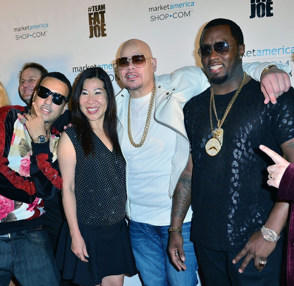 Team Fat Joe celebrates Market America launch