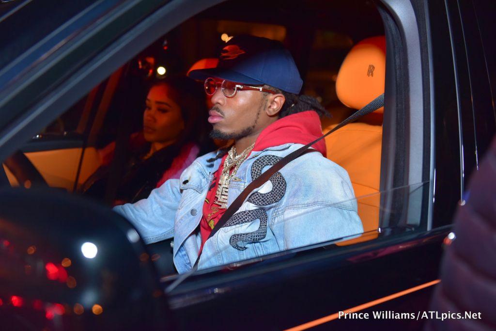 Cardi B and Offset Coupled Up at Oak Atlanta