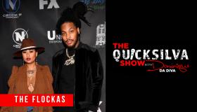 Waka and Tammy Flocka x The QuickSilva Show With Dominique Da Diva